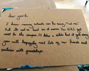 Letter to year 6 student