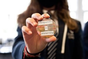 Kindness badge - perspective is everything