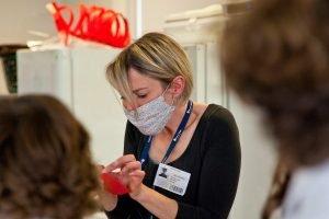 Rachel Merelie Davies leading a project
